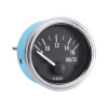 Semi Truck Electrical Voltmeter Gauge Series 1 Without Colorband
