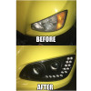 Kenworth T660 T700 Blacked Out Projector Headlights  Before And After