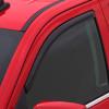 Dodge Dakota Standard Cab AVS Smoke In-Channel Ventvisor 2 Piece On Truck Close Up