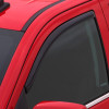 Dodge Ram 1500 2500 3500 Standard Cab AVS Smoke In-Channel Ventvisor 2 Piece On Truck Close Up