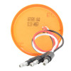 """Spyder 2"""" Round Dual Function LED Clearance Marker Light - Back View"""
