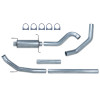 Pypes Dodge 5.9L 600 Turbo Back Exhaust System 03 - Early 04