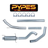 Pypes Dodge 5.9L 600 Turbo Back Exhaust System Late 04 - 07