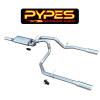 Pypes GM 1500 Series Cat Back Exhaust System 99 - 14