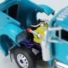 Pyskaty Bros. Trucking #34 Peterbilt Model 379 Sleeper With Trailer 1/64 Scale - Engine View