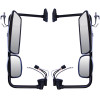 Freightliner M2 Exterior Electrical Mirror Assembly Both Sides Chrome Finish