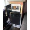Peterbilt 379 389 Refrigerator & Microwave Storage Solution Kit - Open Black Microwave