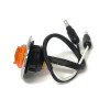 "High Intensity 1"" Mini LED Marker Light Amber Wires"