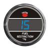 Truck Fuel Restriction Smart Teltek Gauge Blue