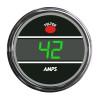 Truck Amp Meter Smart Teltek Gauge Green