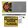Amber Wide Turn Signal Light (LED)