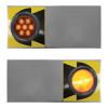 Amber Wide Turn Signal Light (Options)