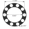 Universal Rim Protector Lug Nut Removal Tool - Dimensions