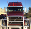 Volvo VNL Amber Cab LED Light On Truck