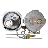 International 4700 4900 8100 Locking Gas Caps