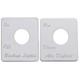 Peterbilt 389 Switch Plates