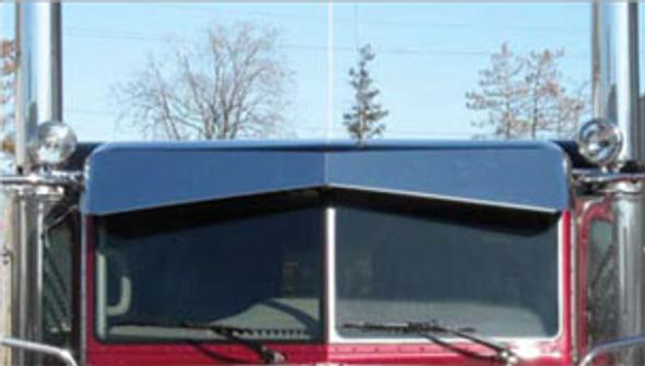 "Peterbilt Standard Cab 13"" Bowtie Boltless Sunvisor"