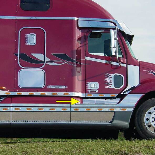 Freightliner Century Columbia Scuff Kit - Truck
