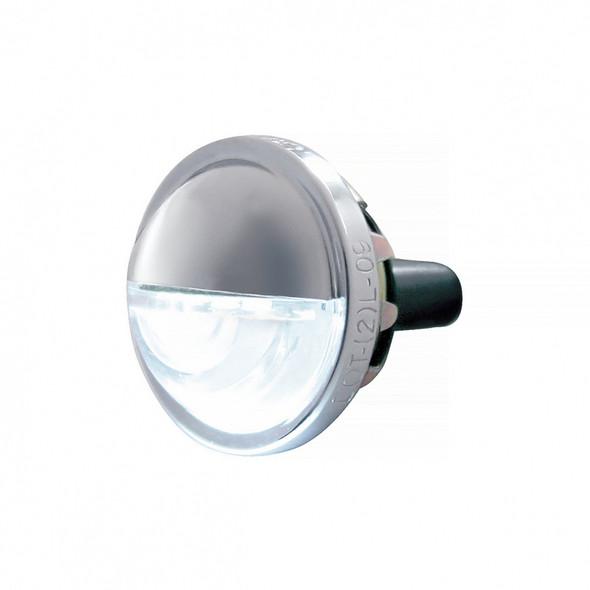 4 LED License Light Side View