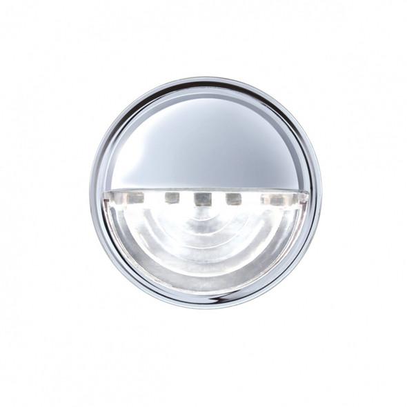 4 LED License Light On