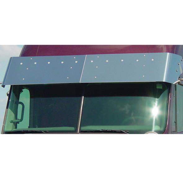 Freightliner Century Columbia Coronado Visor Bullseye LEDs 2004 & Newer With Clear Lens