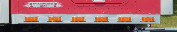 """International Sleeper Panels for 72"""" Pro Sleeper with Extensions & Super 21 LEDs By RoadWorks"""