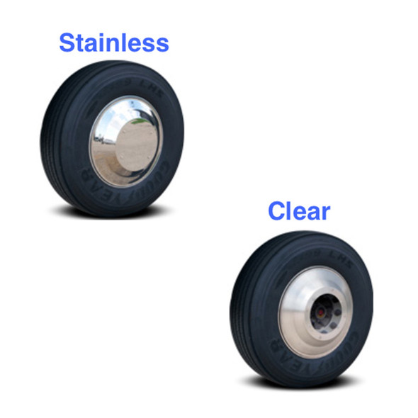 Aero Axle Covers for Front Steer Wheels - Type