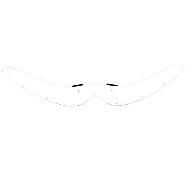 International Lonestar Hoodshield Bug Deflector Front