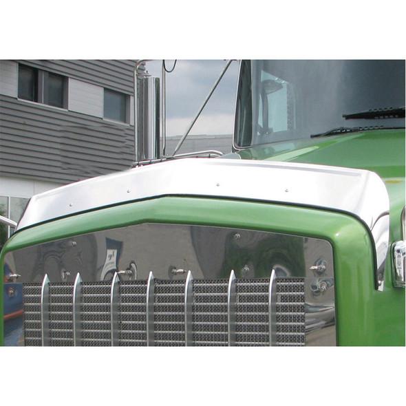 Kenworth T800 Hoodshield Bug Deflector Regular Hood On Truck