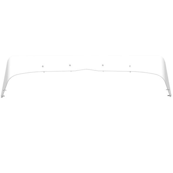 Peterbilt 379 Extended Hood Bug Shield Deflector Front View