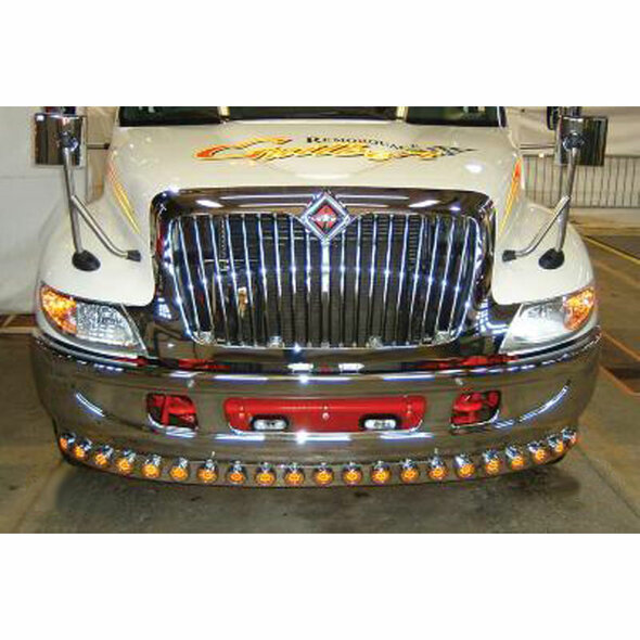 "International 4000 Series Bumper Light Bar with 16 x 2"" LEDs"