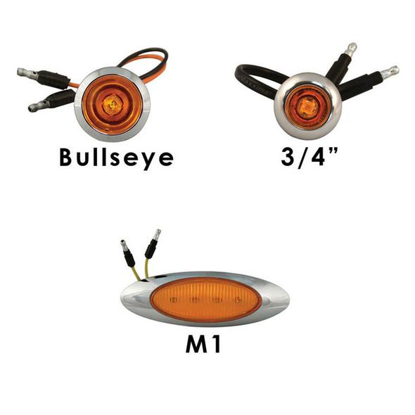 Mack CV713 Cabs No Heater Plug With Side Light Holes LEDs -1