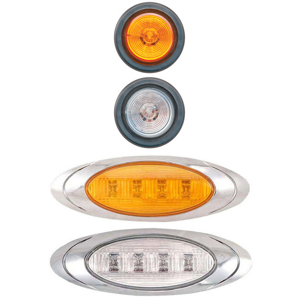 Peterbilt 367 388 Day Cab Blank Cab Panels Light Options