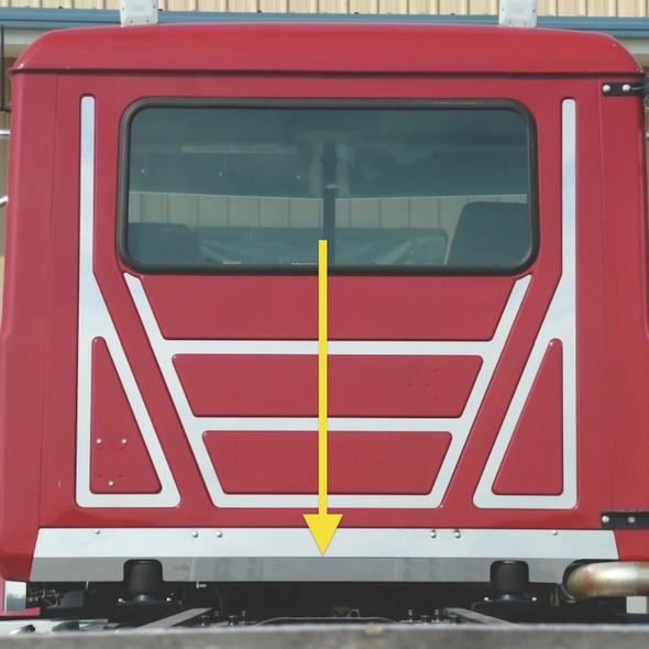 Mack Granite CV713 Lower Rear Cab Filler Passenger Side Exhaust