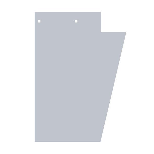 Peterbilt 379 Wide Cowl Extension Blank