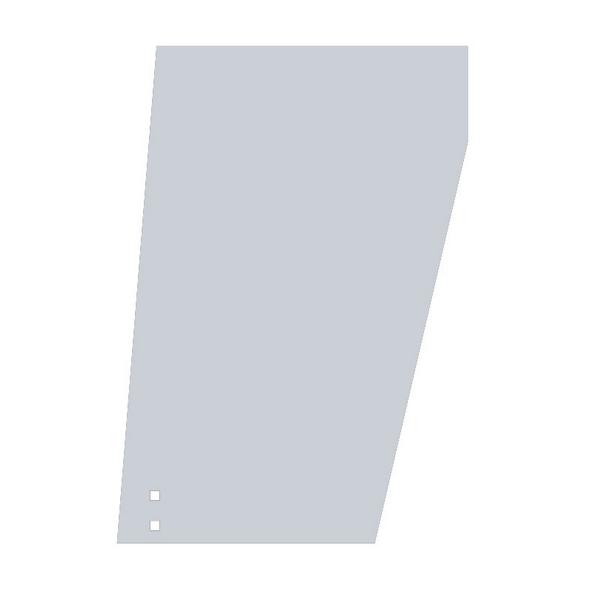Peterbilt 359 Blank Wide Cowl Extensions