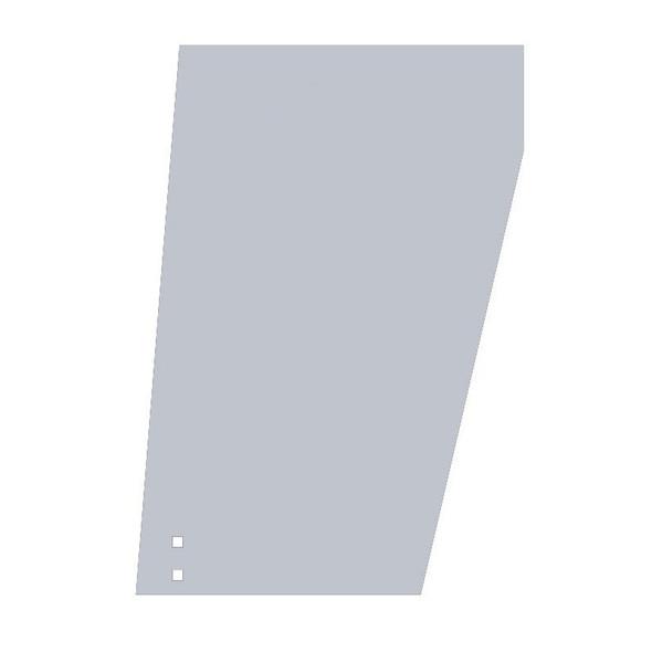 "Peterbilt 359 Wide Cowl Extensions With 8"" Peterbilt Logo Hole"