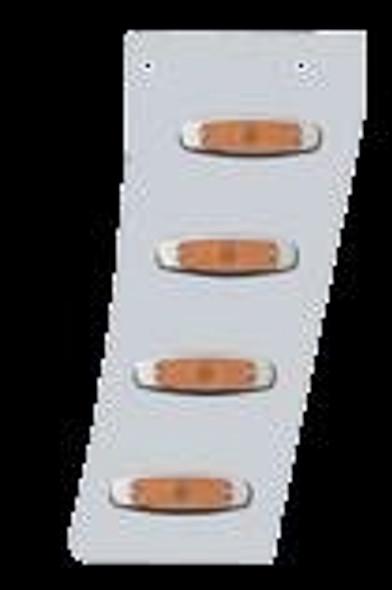 Peterbilt 389 Narrow Cowl Extensions With 8 Supernova LEDs