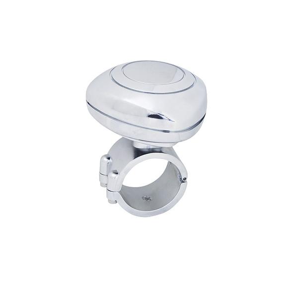 Chrome Plastic Steering Wheel Spinner