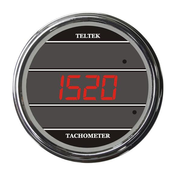 Truck Tachometer TelTek Gauge - Red