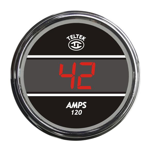 Truck Amp Meter TelTek Gauge - Red