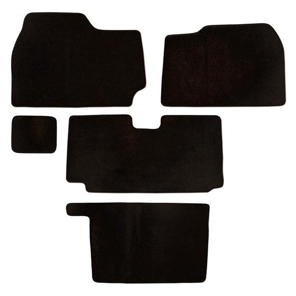 Kenworth T2000 Floor Mats 5 Piece Kit 2001-2010 Carpet Black
