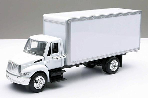 International 4200 White Box Truck 1/43 Scale