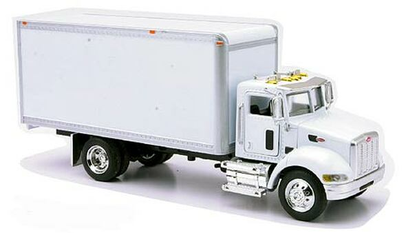 Peterbilt 335 Box Utility Truck 1/43 Scale