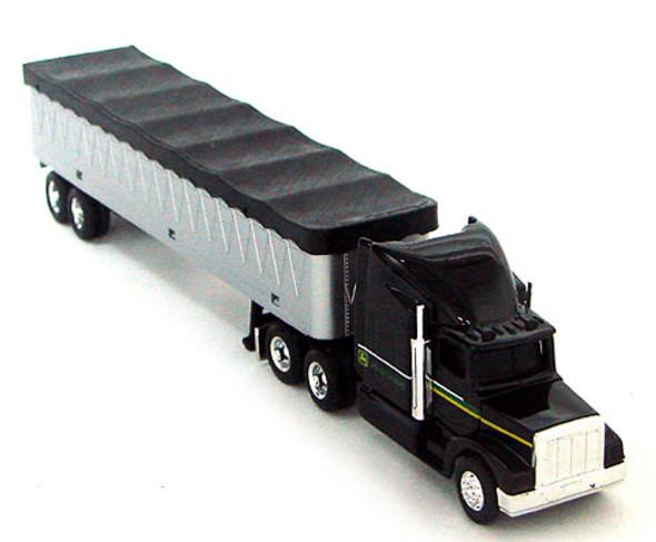 John Deere Grain Semi Tractor & Grain Trailer 1/64 Scale
