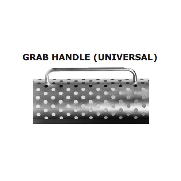 "18"" Heat Shield Grab Handle Chrome Universal"