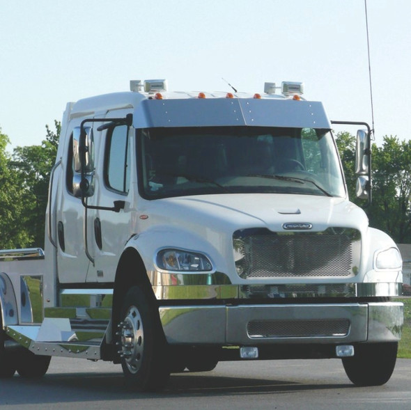Freightliner M2 Stainless Steel Punch Grill