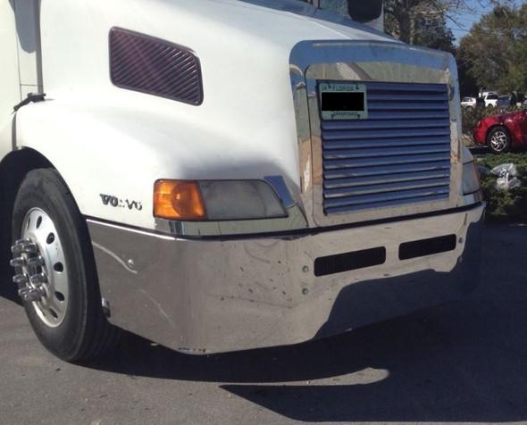 Volvo VNL Bumper 610 660 770 For 2003 & Older Passenger Side