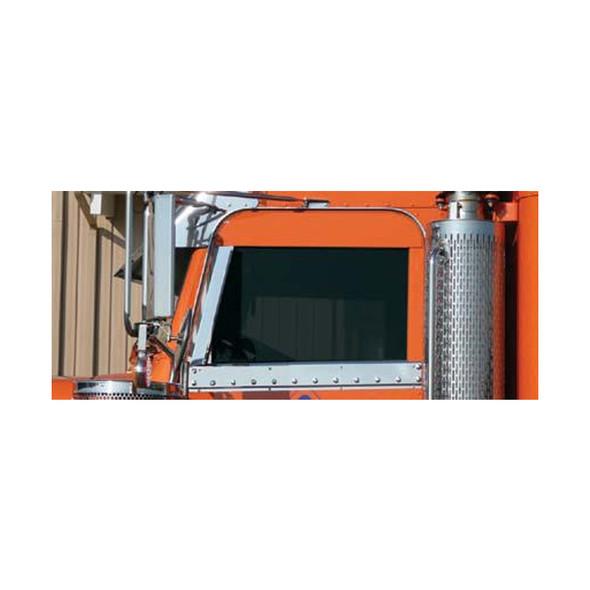 Peterbilt 06+ Window Air Deflectors For Part 30433 30434 By Roadworks