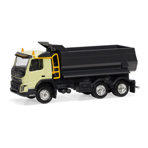 Volvo FMX 6x4 Dump Truck 1/87 Scale Front